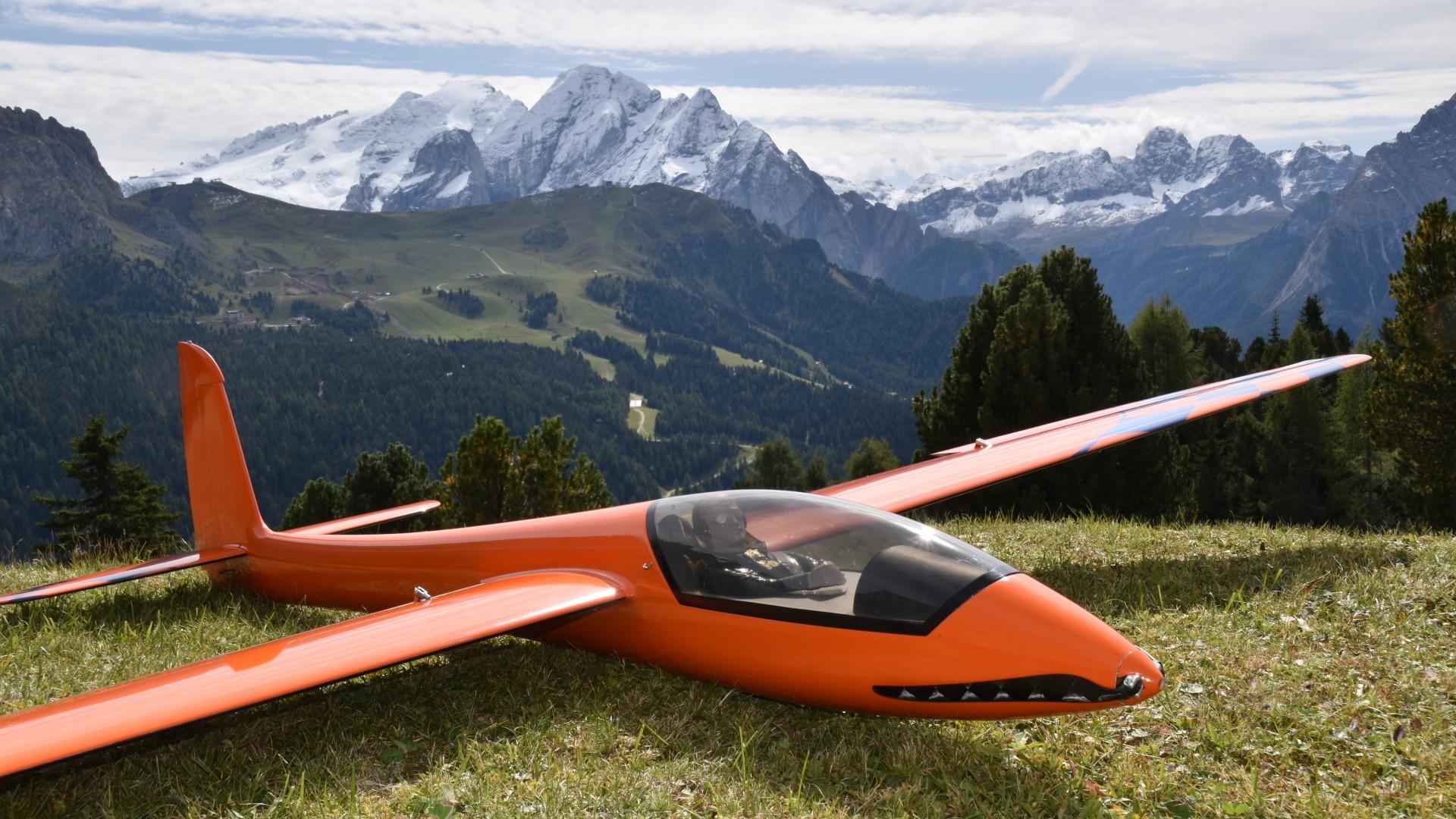 In den Dolomiten: Werners Stingray, 2,85m (SG-Composite)