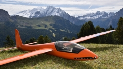 In den Dolomiten: Werners Stingray, 2,85m (SG-Composite)