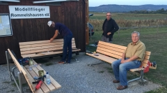 Lärchenholz für unsere Bänke (23.09.2020)