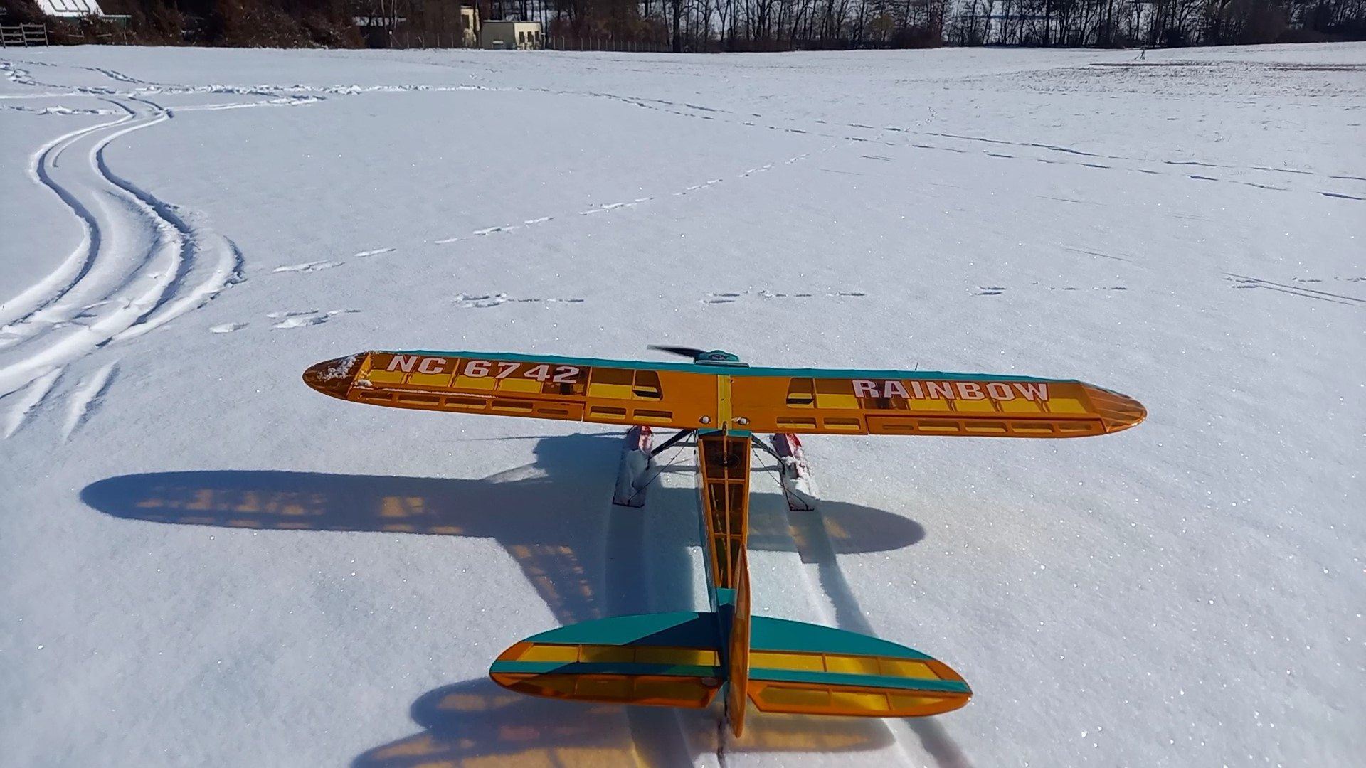 Rainbow 1600 (Phoenix) mit Schneeausrüstung