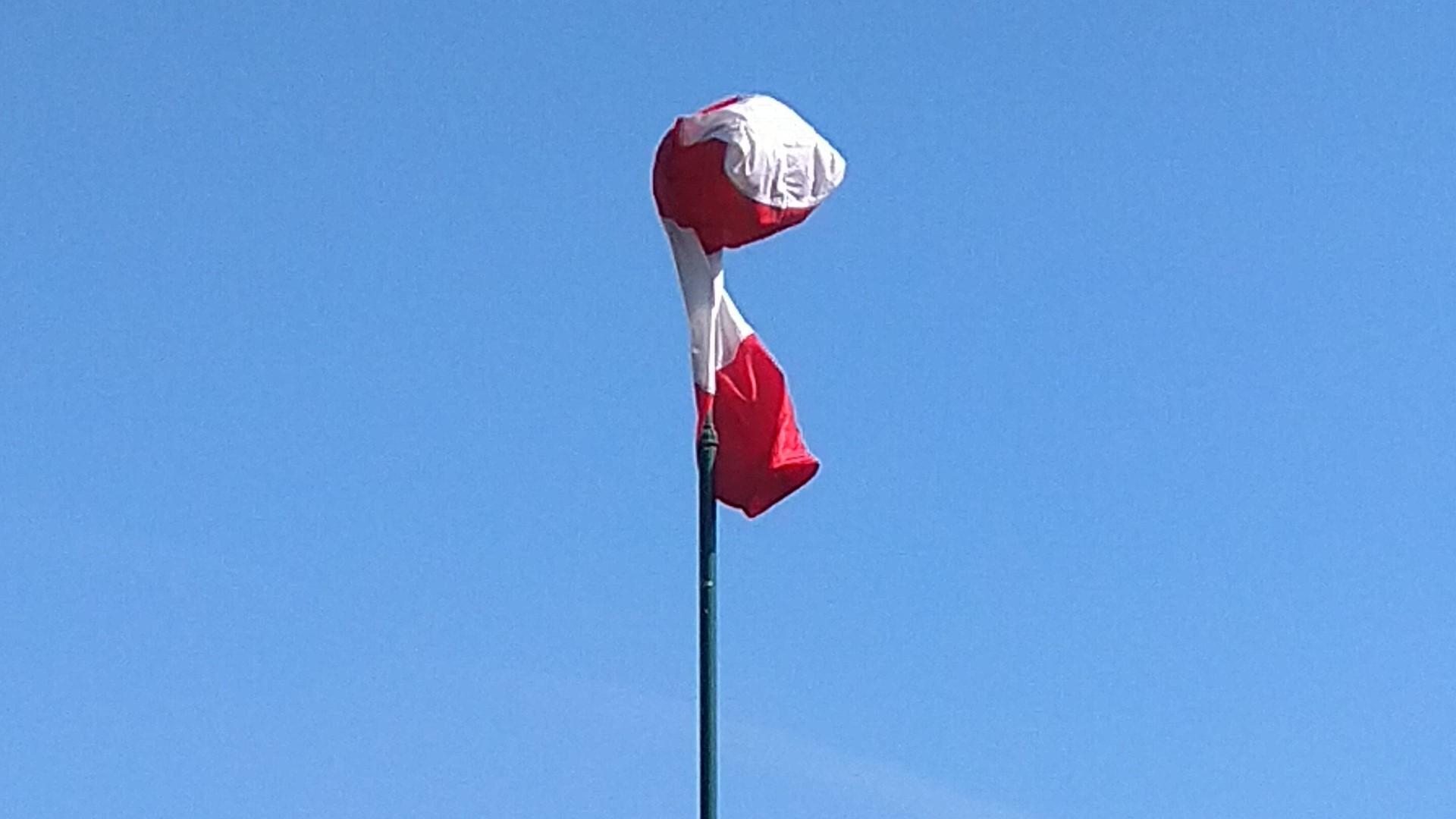 Unser etwas planloser Windsack