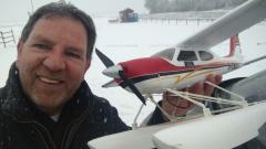 Jahres-Anfliegen mit Cessna 177 (Hype) am 17. Januar 2021