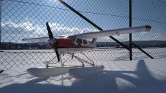 Schneefliegen mit Cessna 177 (Hype) am 11. Februar 2021