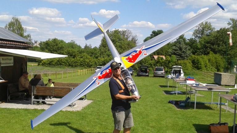 Blanik L13 4,2m (Horizon Hobby) mit EDF