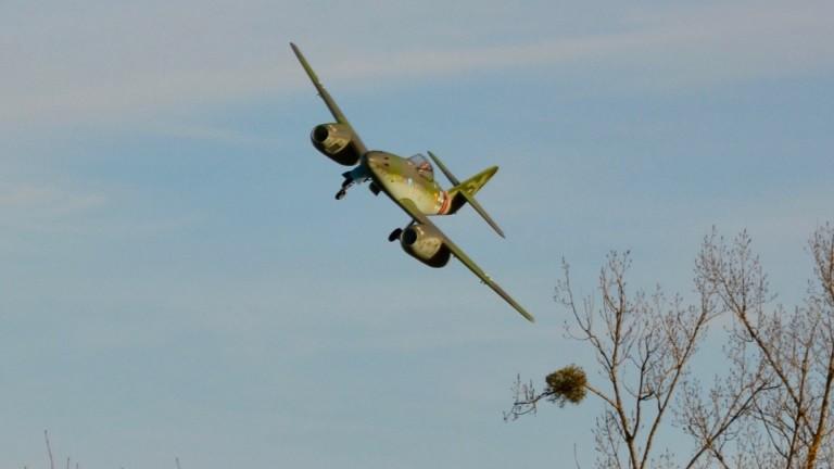Messerschmitt Me 262 'Gelbe 7' (Freewing)