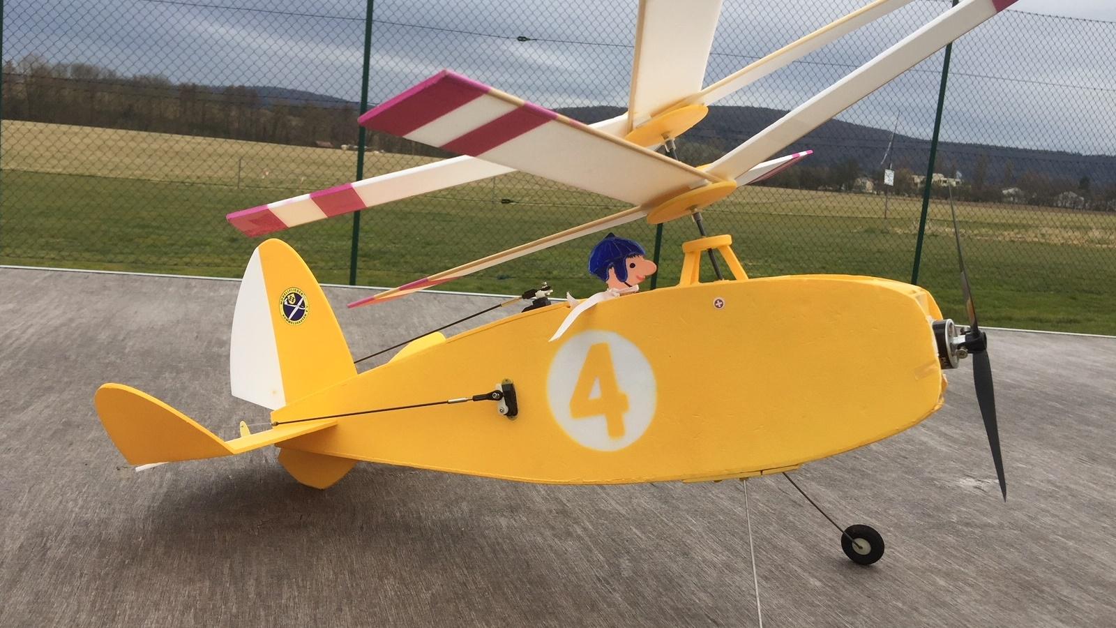 Jupiter Kwirl, Modell Aviator Downloadplan