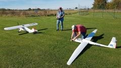 Schleppzug - Piper mit Saito FG-61 TS und Robbe Ventus 2c 4,50m