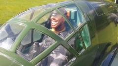 17066 Der grinsende Pilot der DO335