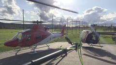 17070 Heli-Treffen mit Agusta, Heli Baby NT und Logo550SE